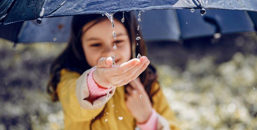 Odwrócony parasol - gadżet idealny na jesień!