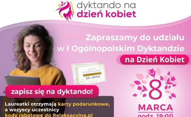 Dyktando na Dzień Kobiet - konkurs