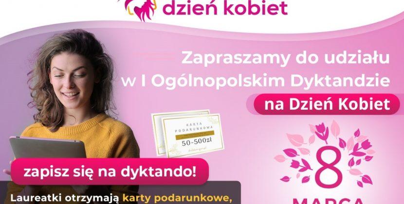 Dyktando na Dzień Kobiet – konkurs