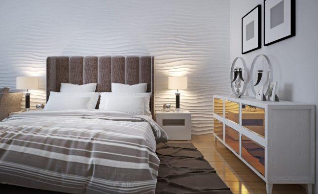 Pomysł na zaaranżowanie sypialni w bloku